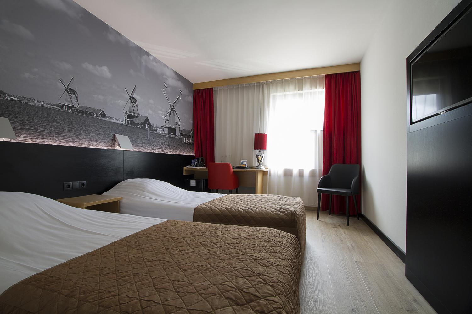 Bastion Hotel Zaandam - Hotelroom