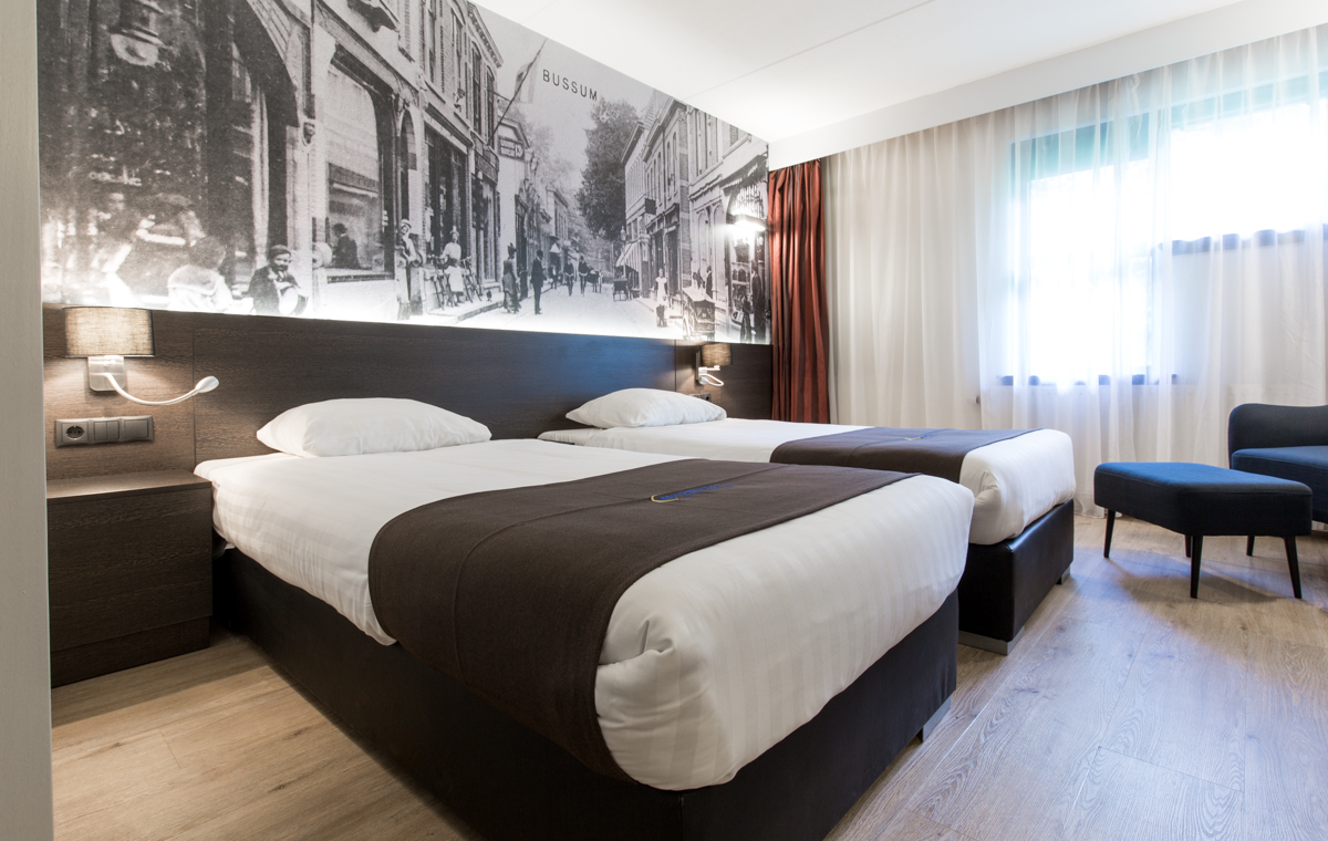 Bastion Hotel Bussum - Deluxe Chambre