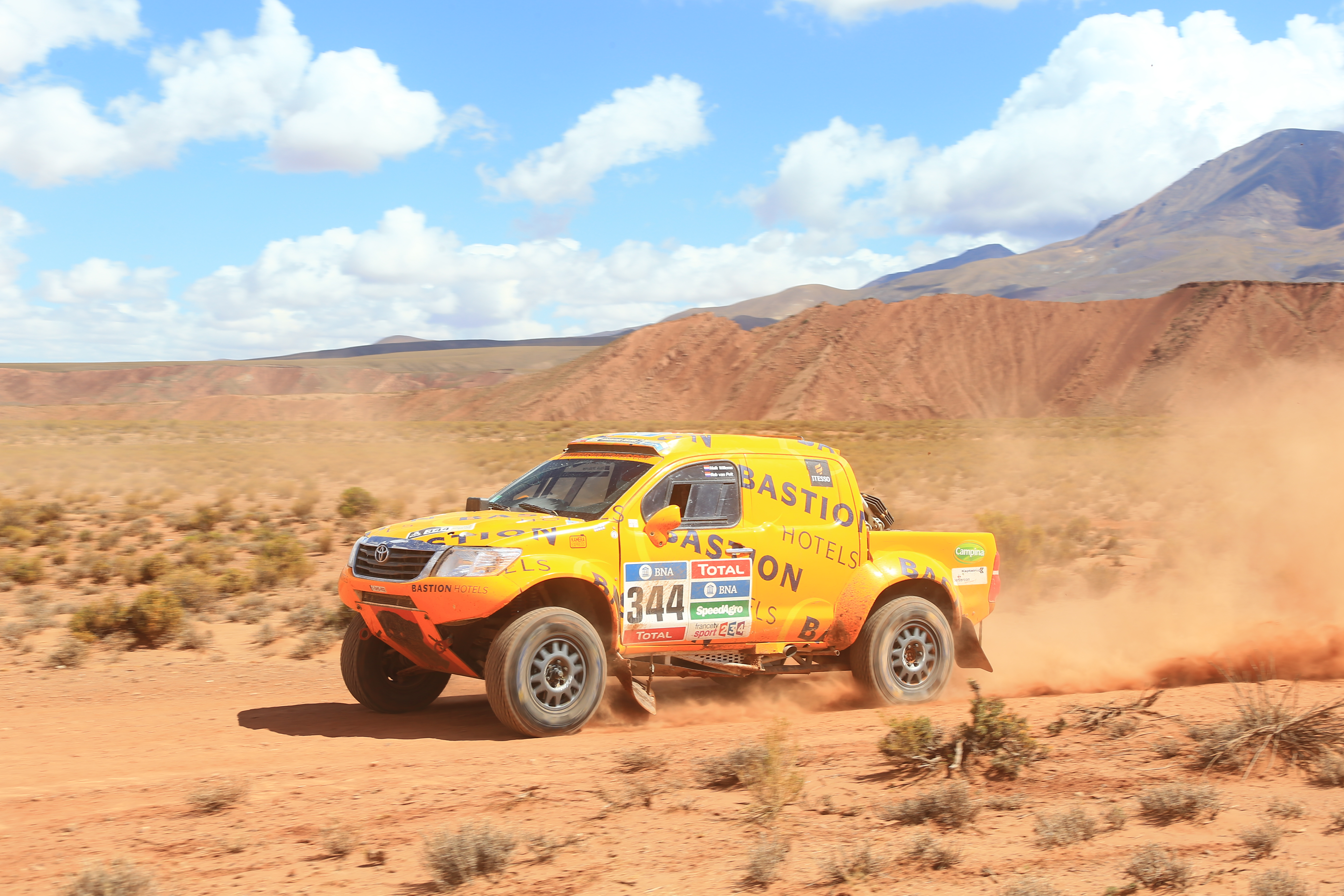 Dakar Rally Bastion Hotels 2016